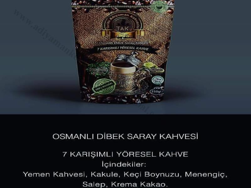 osmanlı dibek kahvesi içinde ne var